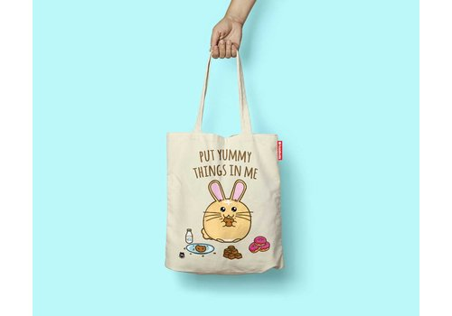 Fuzzballs Fuzzballs Totebag - Put yummy things in me