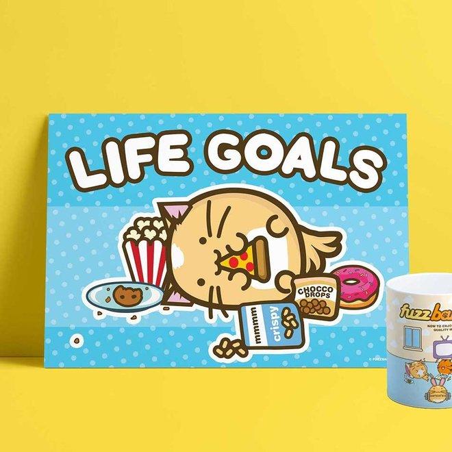 Print A4 - Life Goals