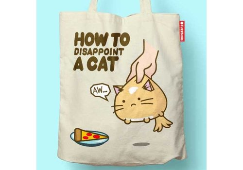 Fuzzballs Fuzzballs Totebag - How to dissapoint a cat