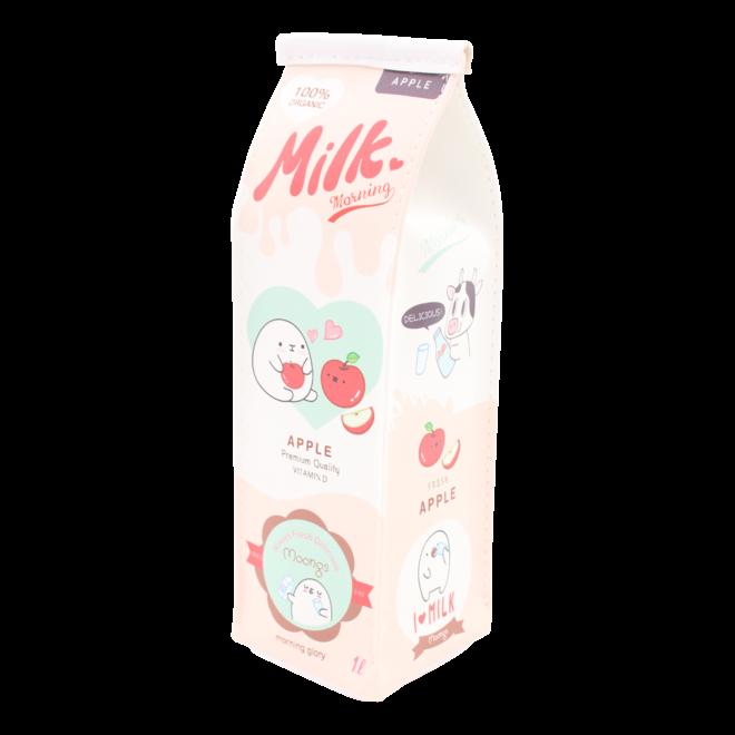Moongs melkpak etui - appel