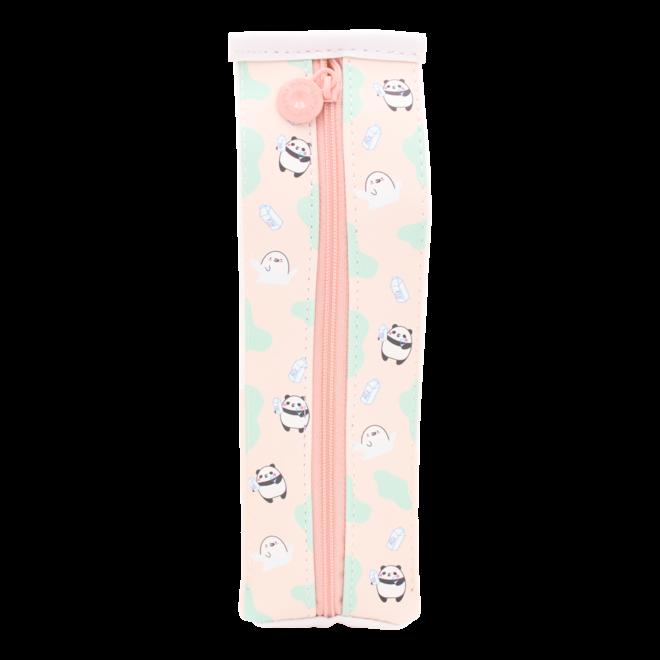 Moongs milk carton pencil case - apple