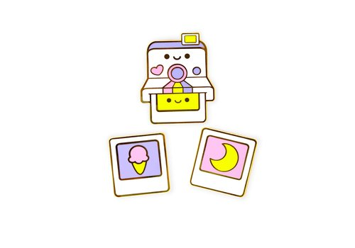 We Are Extinct Pin - Polaroid Set