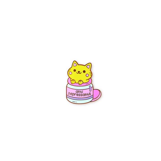 Pin - Anti-Depressants Cat