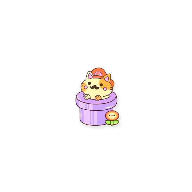 Pin - Super Mario Cat