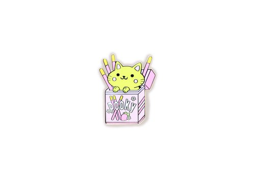 We Are Extinct Pin - Pocky Cat