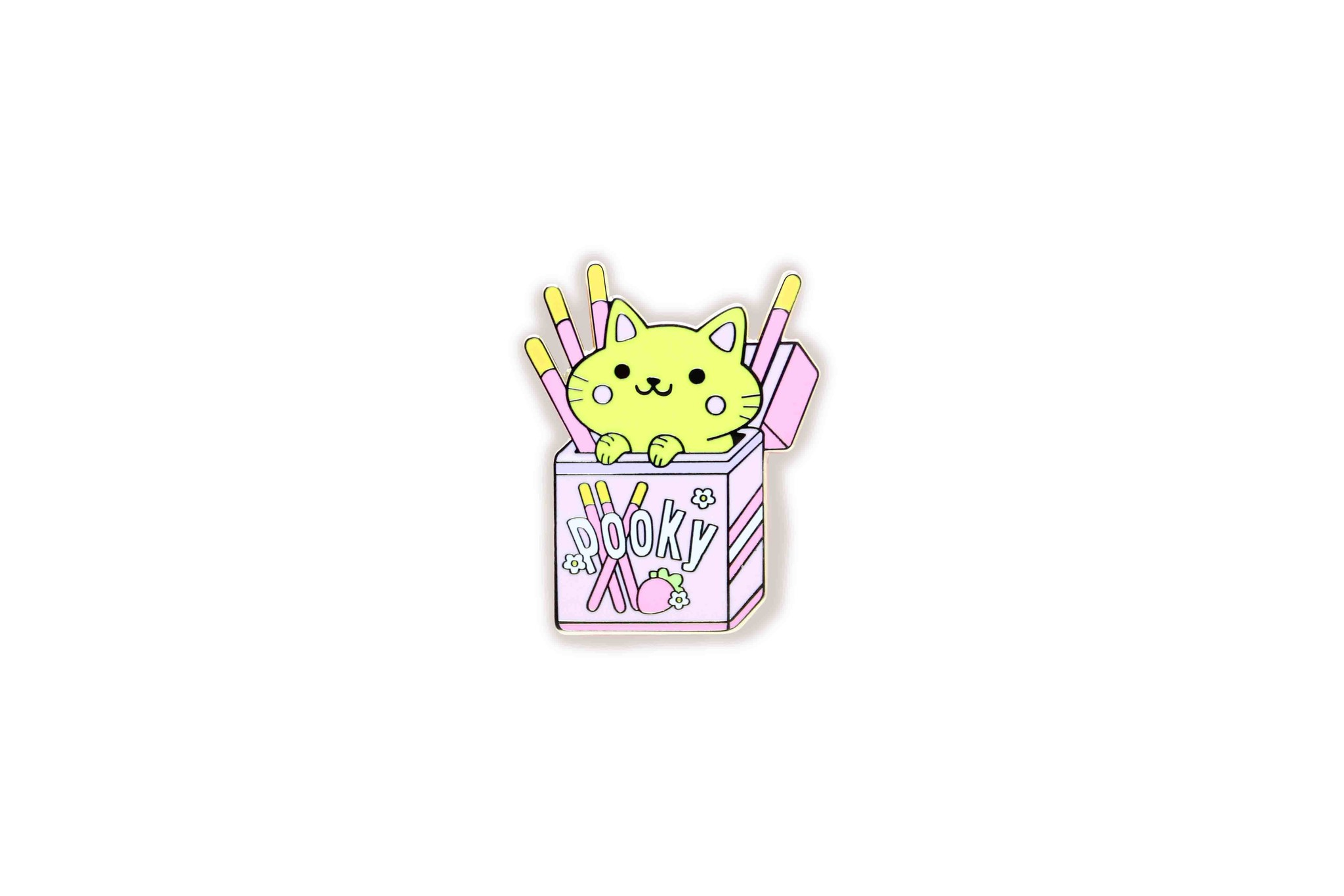 We Are Extinct Pin - Pooky Cat