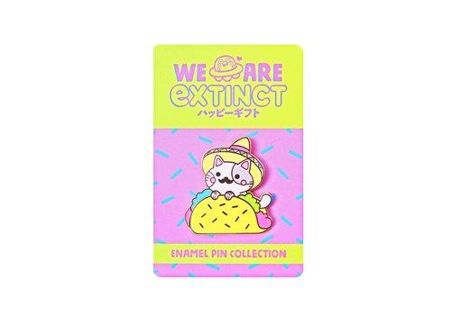 We Are Extinct Pin - Taco Cat