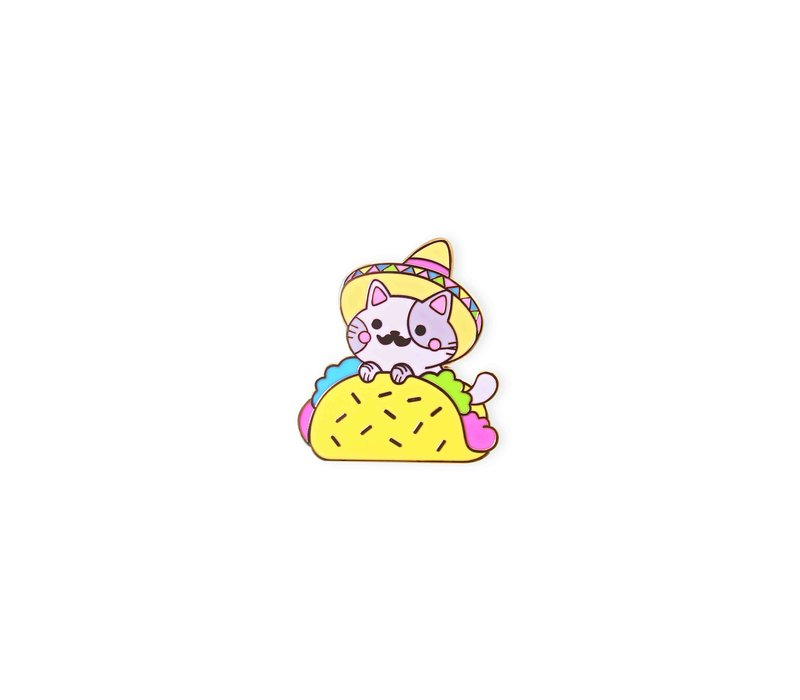 We Are Extinct emaille Pin - Pin - Taco Cat