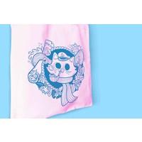 Totebag - Sailor Cat roze