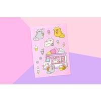 Sticker sheet - Ice Cream Cats