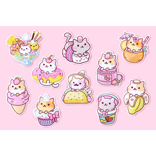 YumYum Cats sticker set - 1