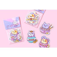 YumYum Cats sticker set - 2