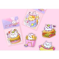 YumYum Cats sticker set - 3
