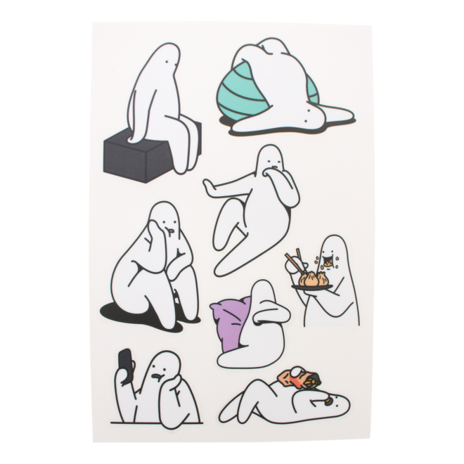 Mr.Donothing sticker sheet A