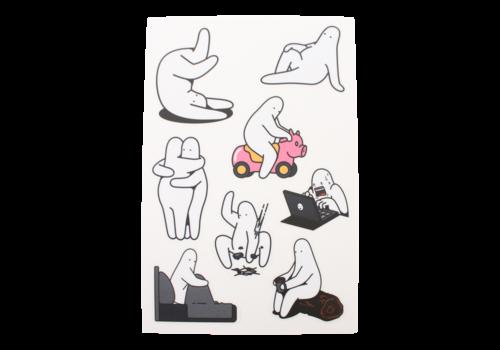 Mr.Donothing Mr.Donothing stickervel 2
