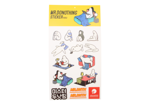 Mr.Donothing Mr.Donothing sticker sheet 3