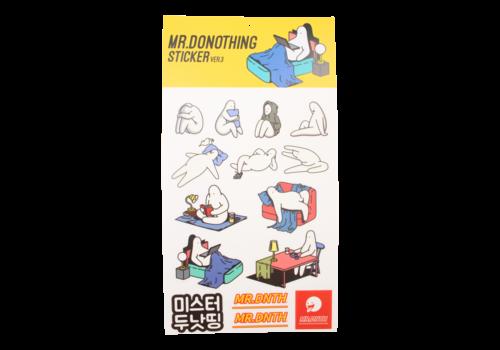 Mr.Donothing Mr.Donothing stickervel 3