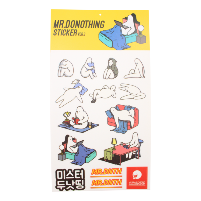Mr.Donothing sticker sheet 3