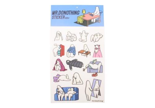 Mr.Donothing Mr.Donothing stickervel 4
