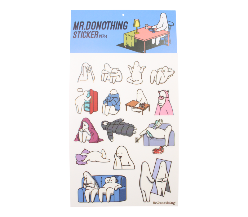 Mr.Donothing stickervel 4