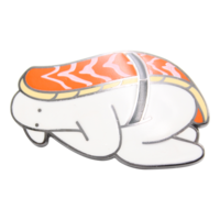 Mr.Donothing pin - Sushi