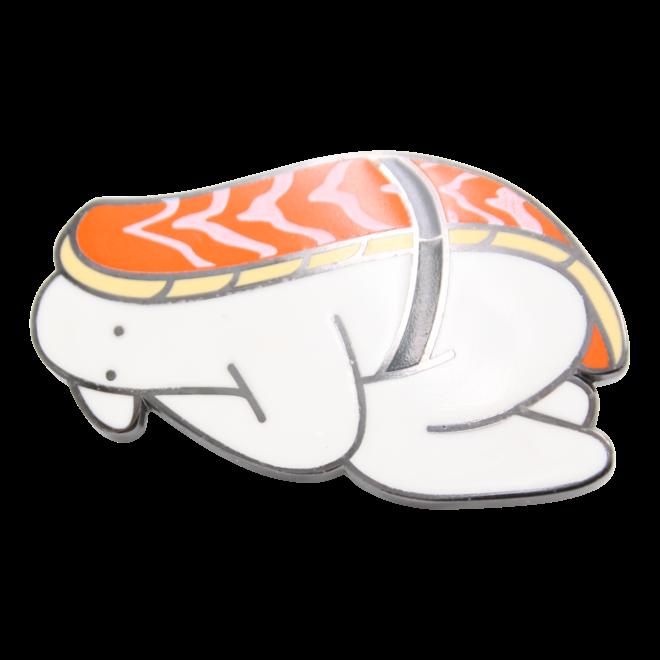 Mr.Donothing pin - Sushi