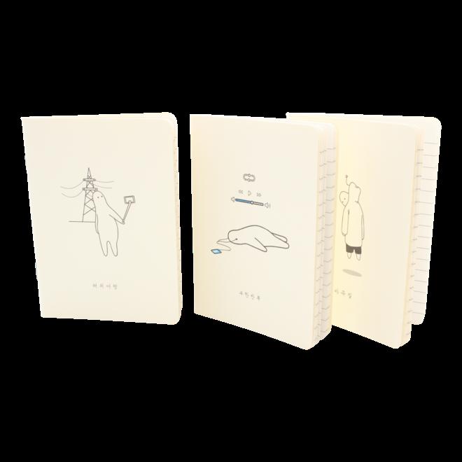 Mr.Donothing - Mini note set 1