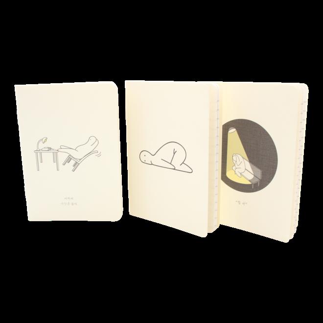 Mr.Donothing - Mini note set 2