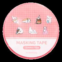 Mr.Donothing Masking / washi tape - Pink