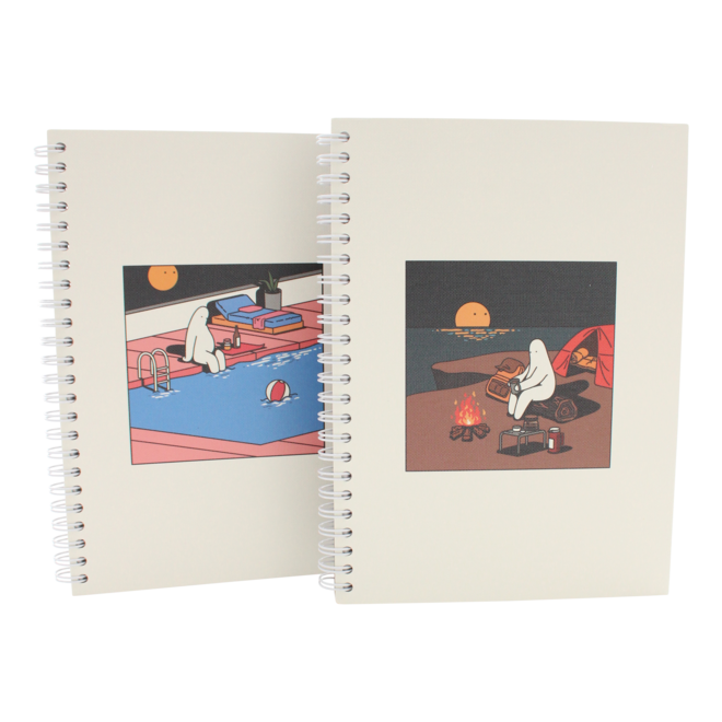 Mr.Donothing notebook - Swimming pool