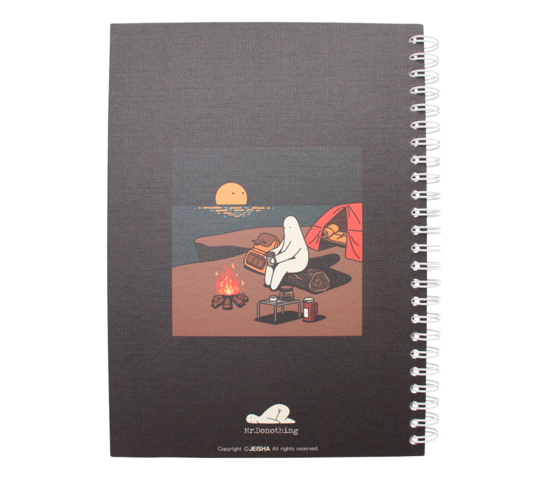 Mr.Donothing notebook - Camping