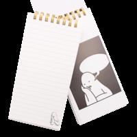 Mr.Donothing notes - Zwart