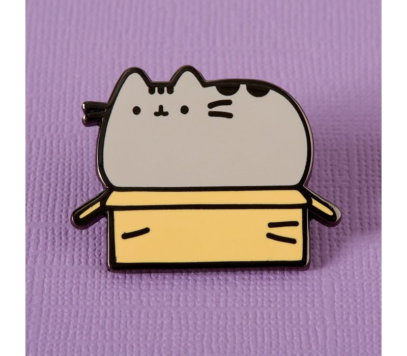 Punky Pins enamel Pin - Pusheen in a Box