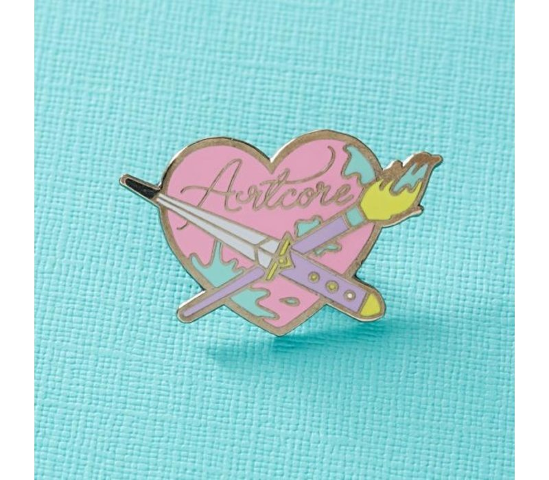 Punky Pins emaille Pin - Artcore
