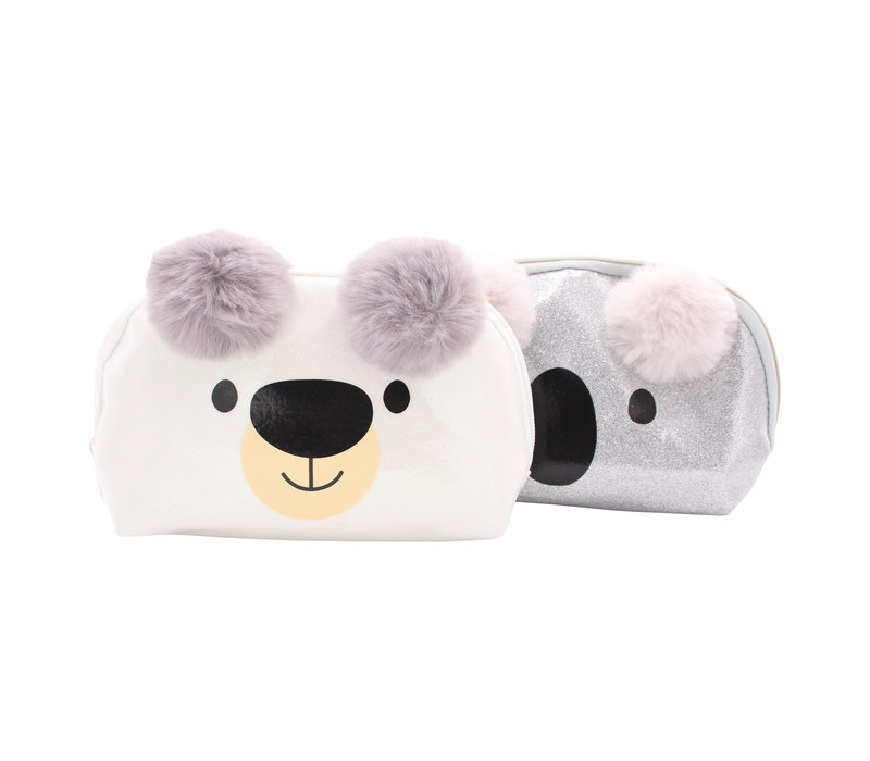 Happy Zoo pencil case polar bear