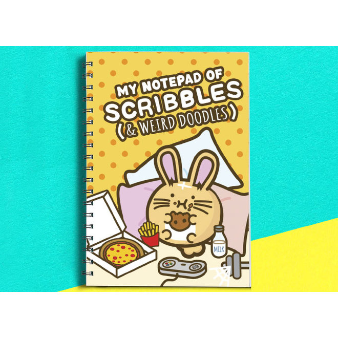 Fuzzballs notebook - My notepad of scribbles and weird doodles