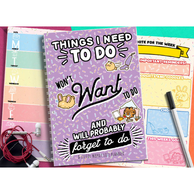 Fuzzballs planner - Things I need to do