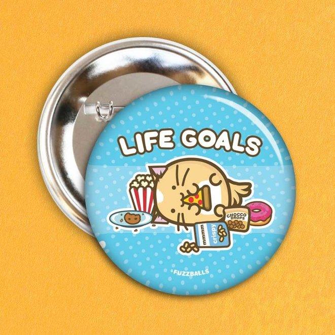Button - Life goals