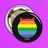 Fuzzballs Button - Pride
