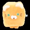 Cube Cat plushie - Orange