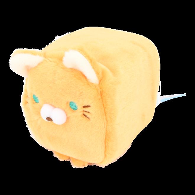 Cube Cat plushie - Oranje