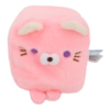 Cube Cat plushie - Roze