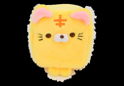 Cube Cat plushie - Geel