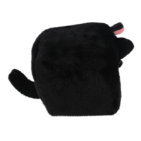 Cube Cat plushie -  Zwart