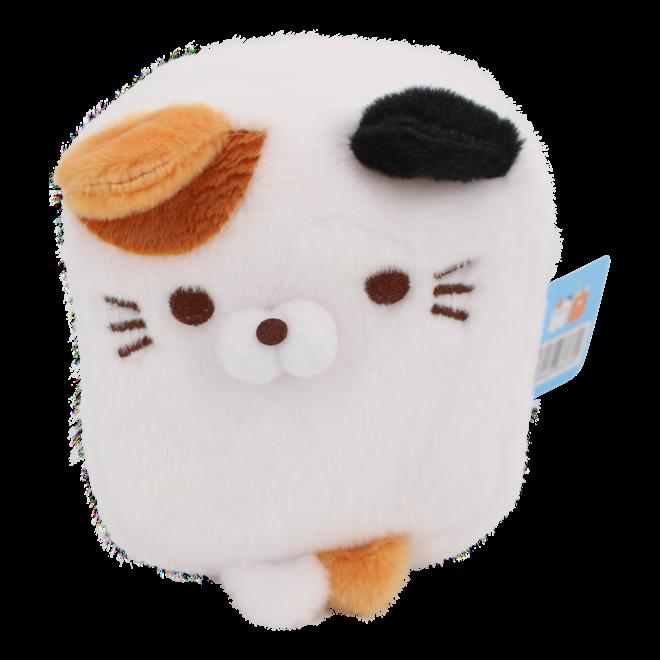 Cube Cat plushie -  Wit
