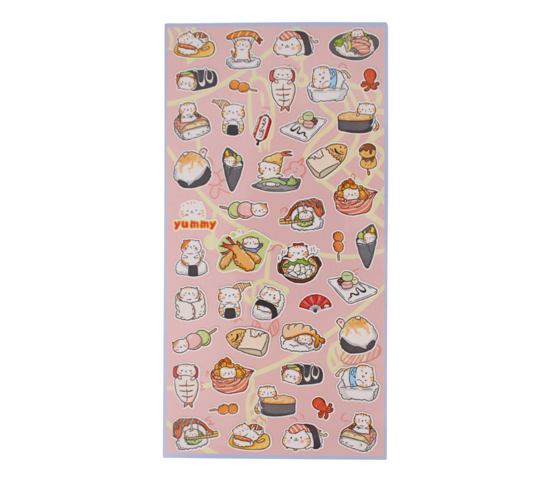 Sushi Cat Stickers