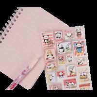 Panda Stamp Nekoni Stickers