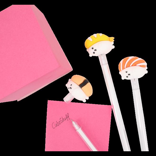 Sushi gel pen