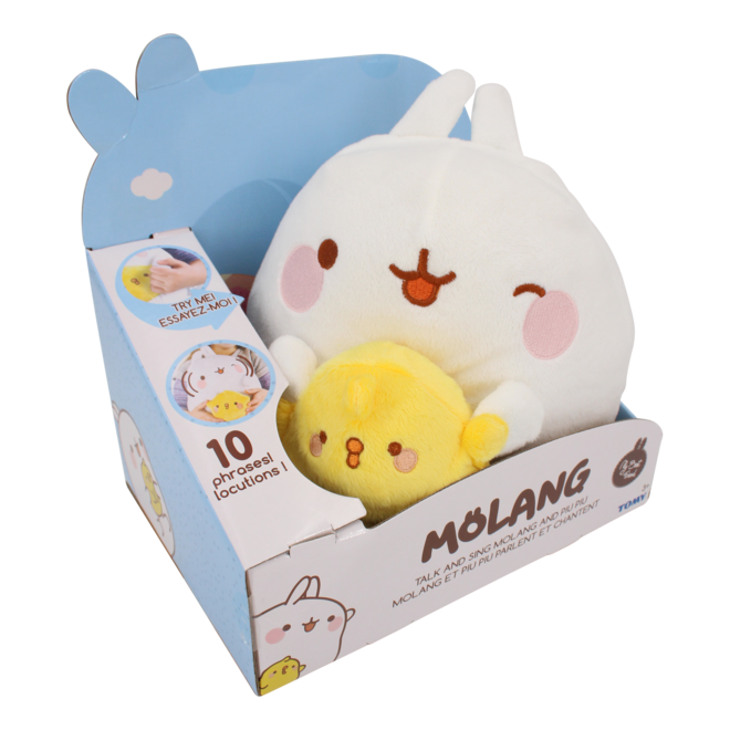 Molang & Piu Piu Talk and Sing Plush 25 cm