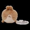 Molang Brown Molang's Friend Sleeping Plushie 10 cm